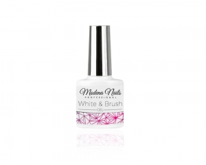 Żel French - White & Brush Gel 7,3ml