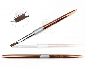Gel Brush Exclusive Rose Gold #4