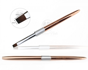 Gel Brush Exclusive Rose Gold #6