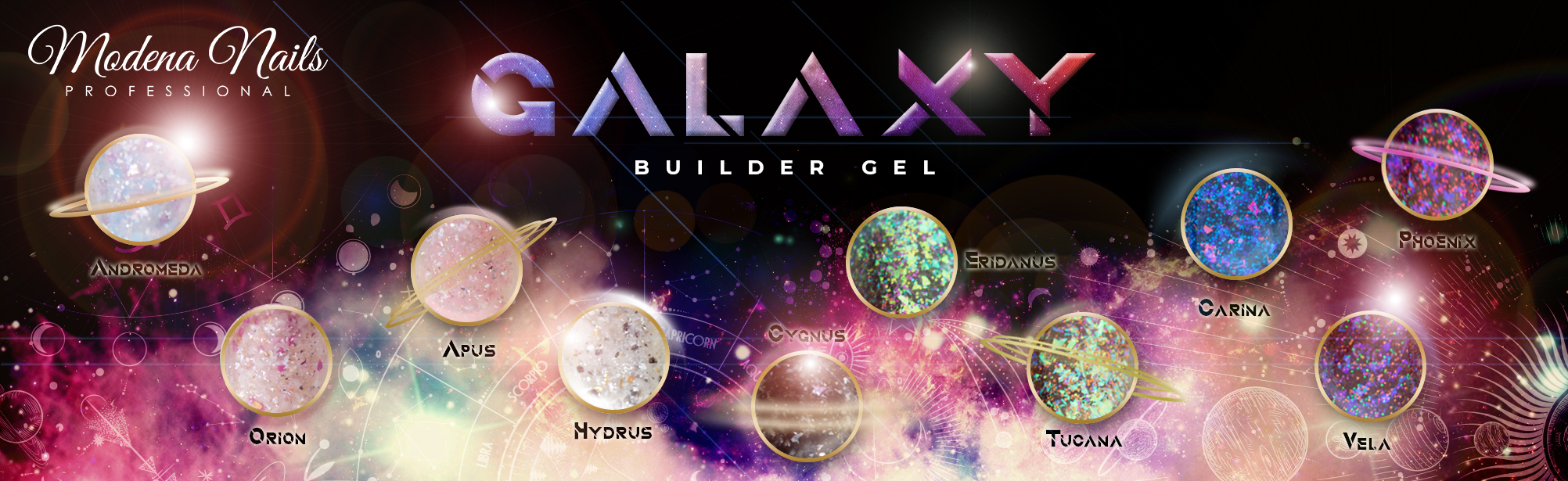 Galaxy Builder Gel